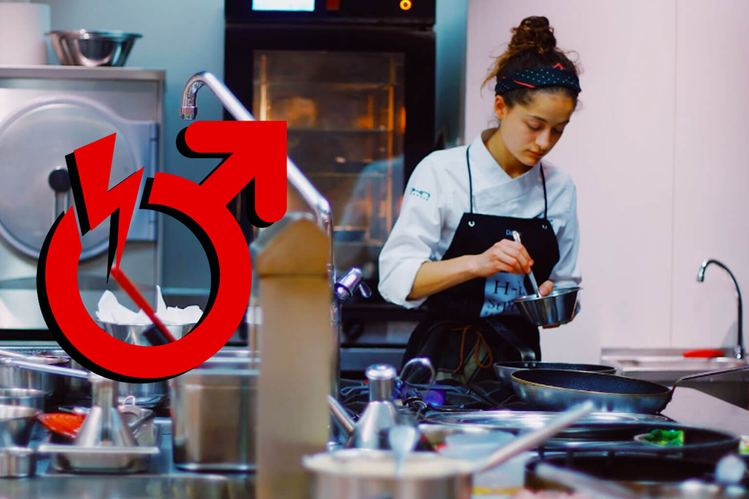 Sexism Is The Predominant Flavor In Professional Kitchen: Female Chef % - % The Voice Of Woman