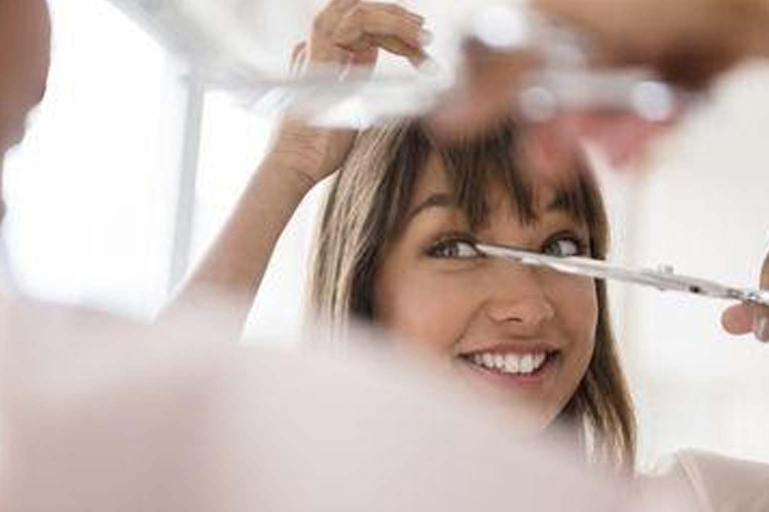Cut Your Hair At Home With These Easy Tips % - % The Voice Of Woman