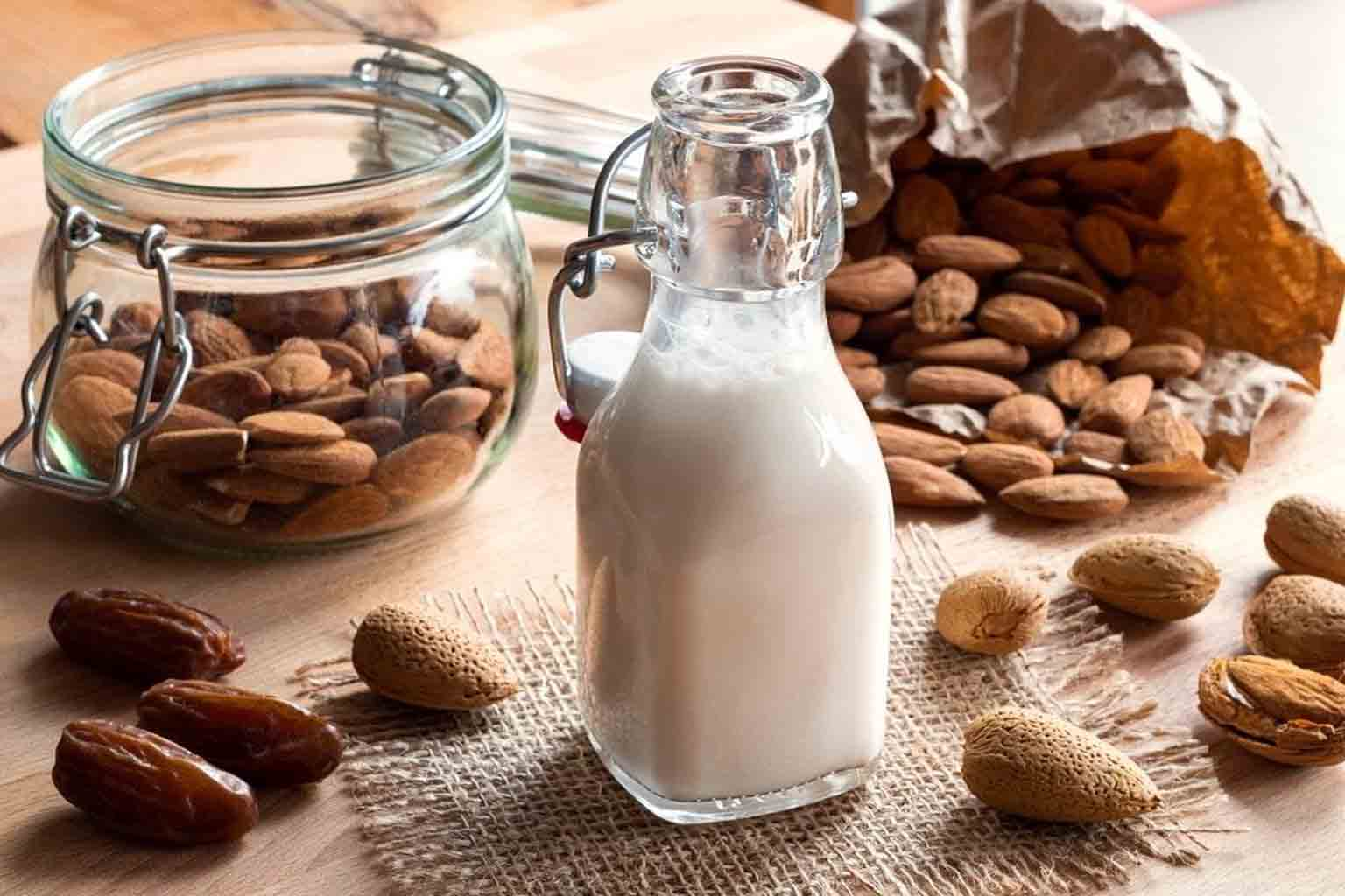 Can Almond Milk Replace Dairy Milk? % - % The Voice Of Woman