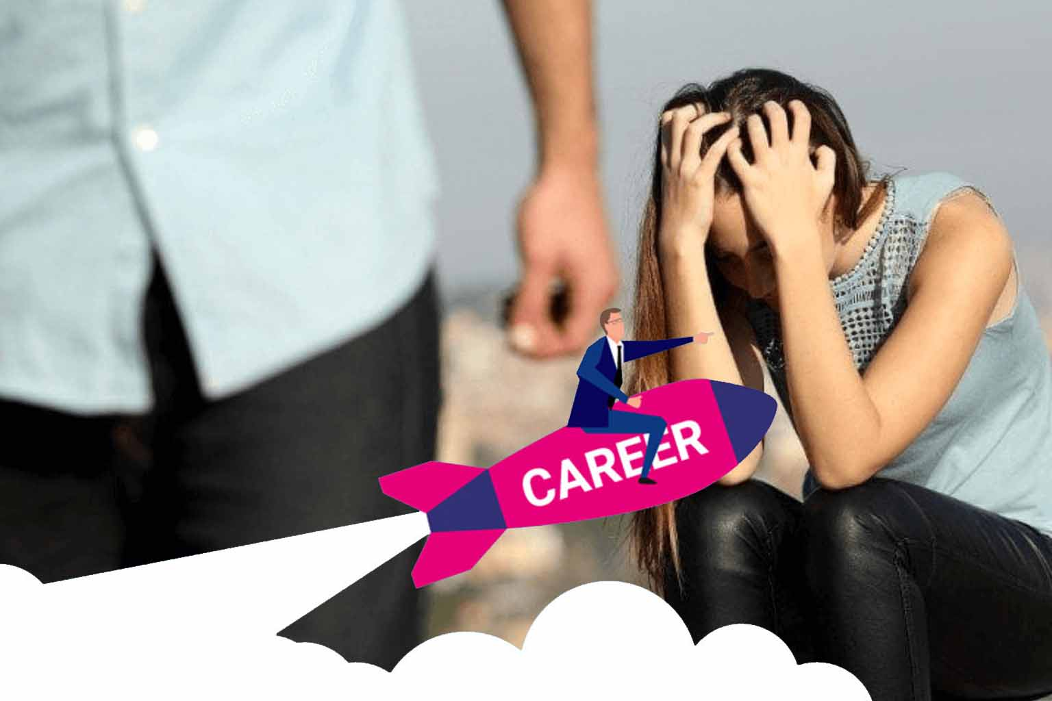 What is more important love or career?