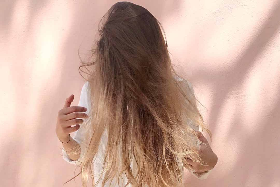 get straight hair naturally