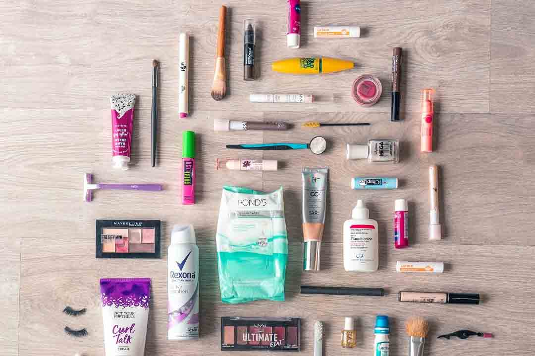 common beauty product labels