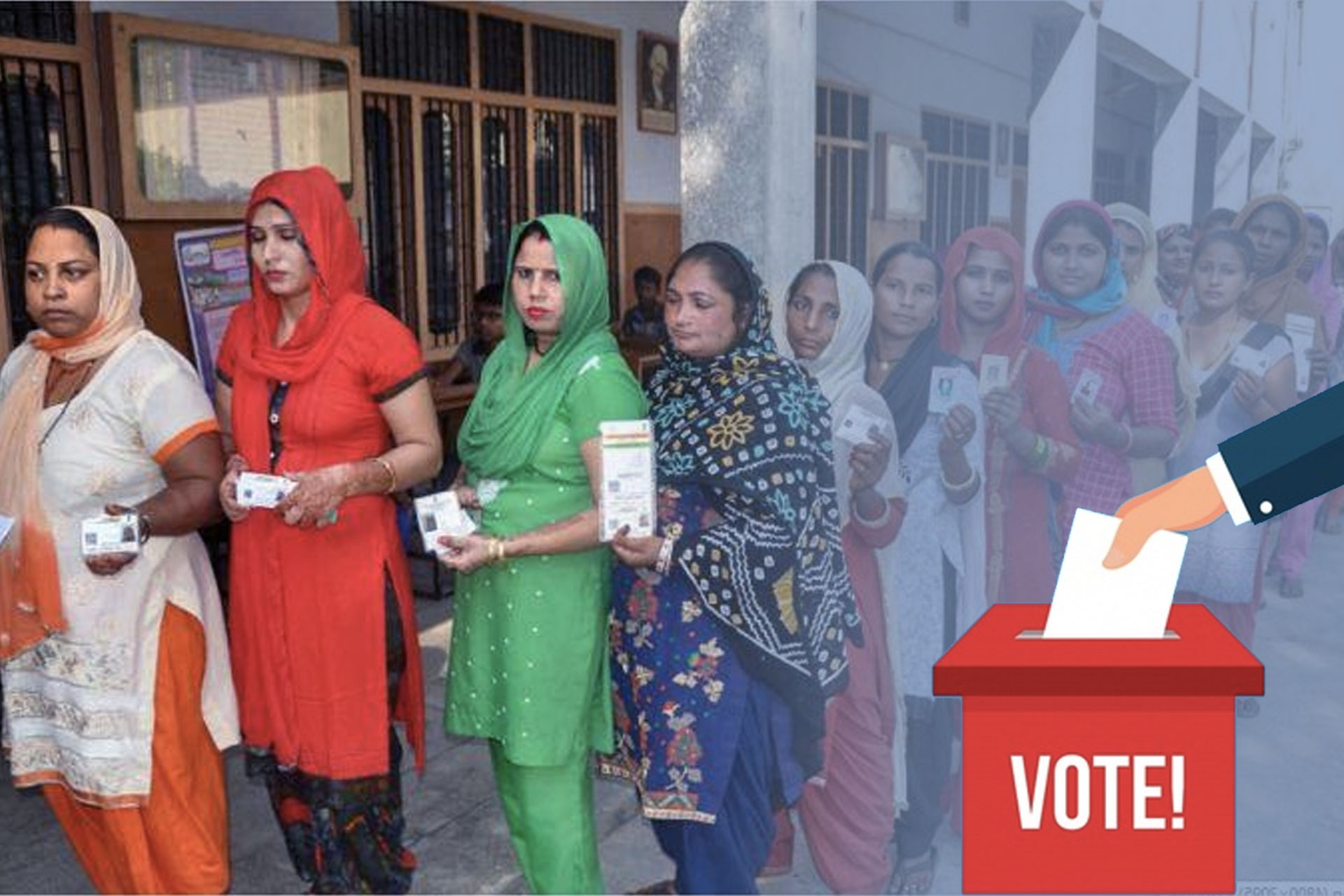 female candidates in elections