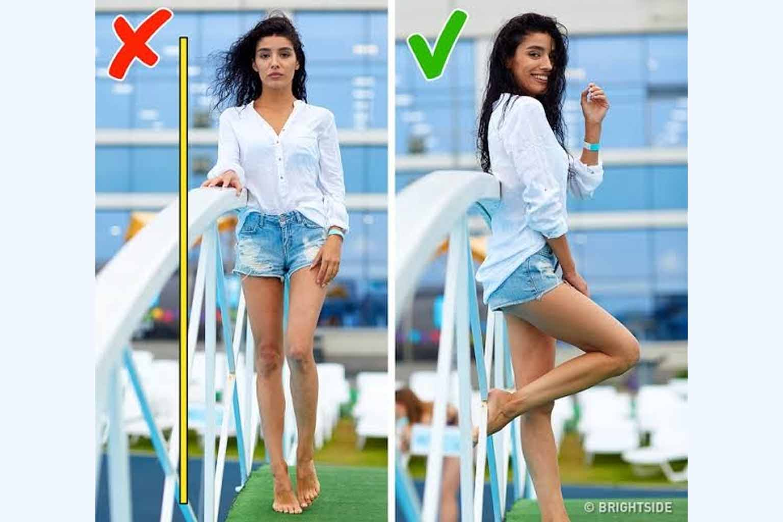 how to pose